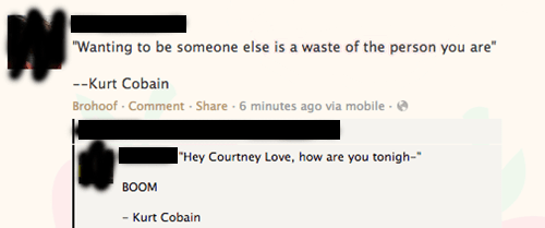 courtney love,facebook,kurt cobain,quote