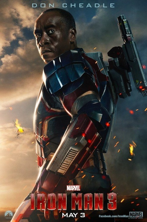 warmachine Movie iron patriot iron man 3