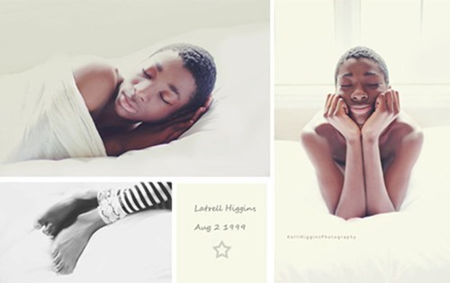 "Photographer Takes ""Newborn Pics"" of Her Newly adopted, 13-Year-Old Son"