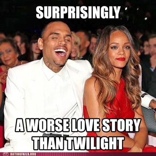 Grammys chris brown rihanna twilight - 7061974528