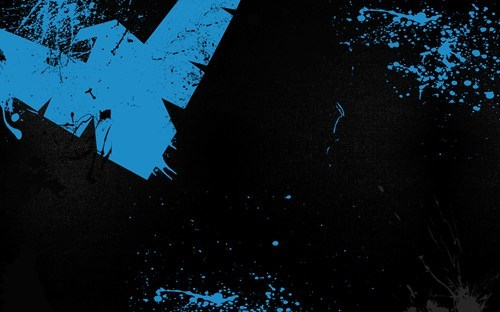 art nightwing symbol - 7062056192