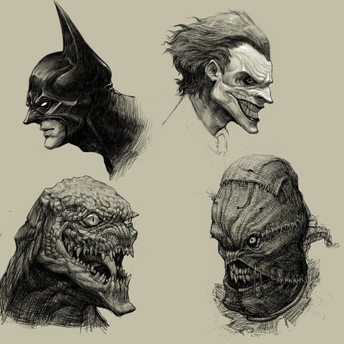 joker,art,creepy,batman