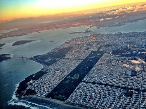 bird's eye view,cityscape,san francisco