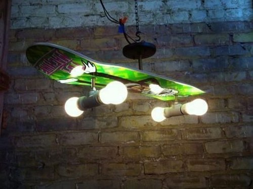 lamp design light skateboard - 7062322688