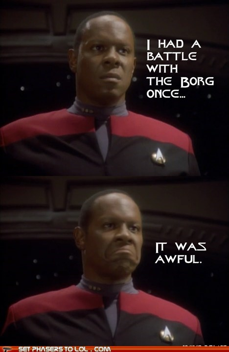 captain sisko Grumpy Cat it was awful avery brooks Star Trek Deep Space Nine - 7062814464