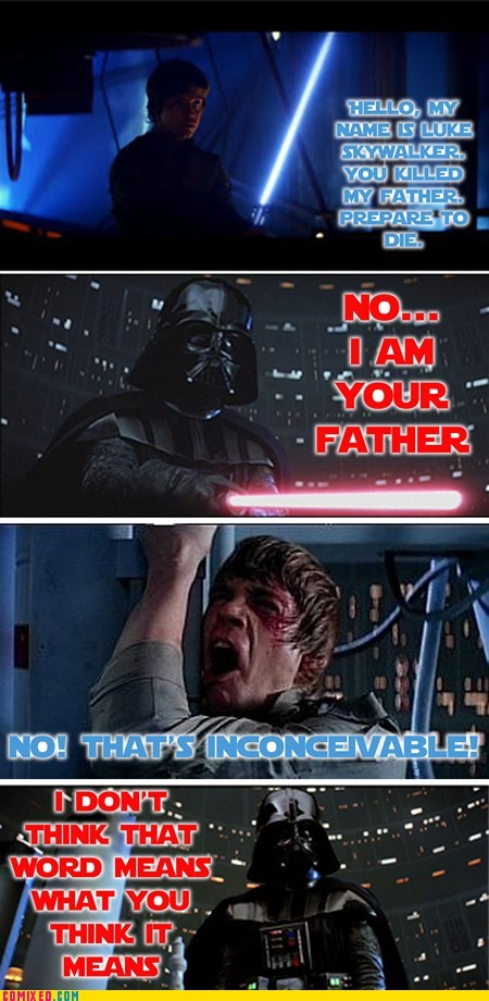 star wars,the princess bride,Movie,mash up