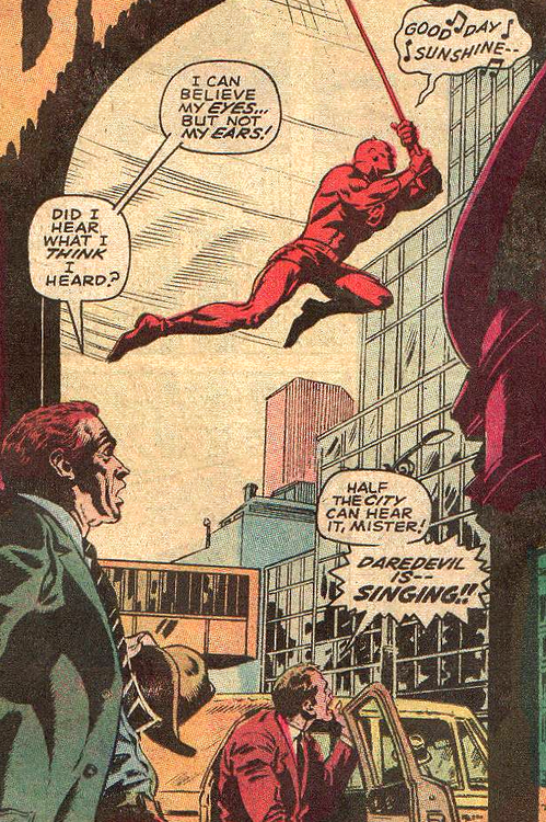 Daredevil Is Quite the Vocalist