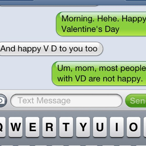 VD abbreviations iPhones Valentines day - 7063385088