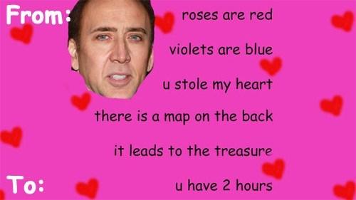 nicolas cage Valentines day - 7064016896