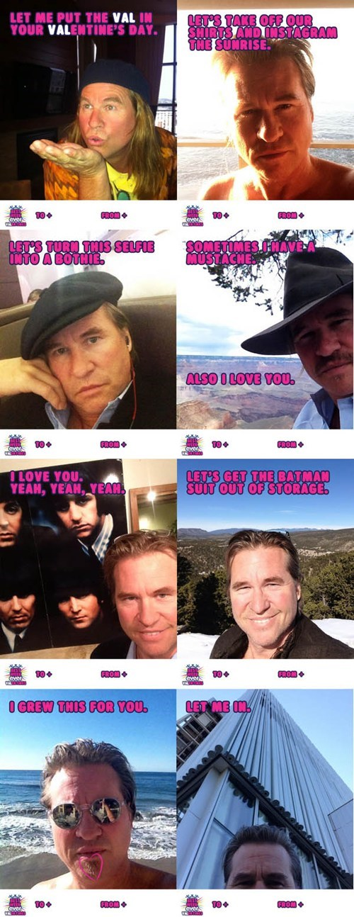 actor,val kilmer,Valentines day