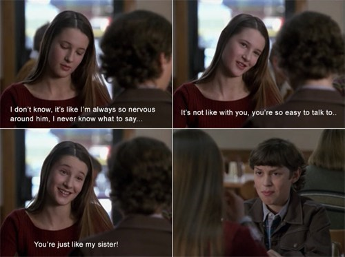 disappointed flirting sister-zoned - 7064096256