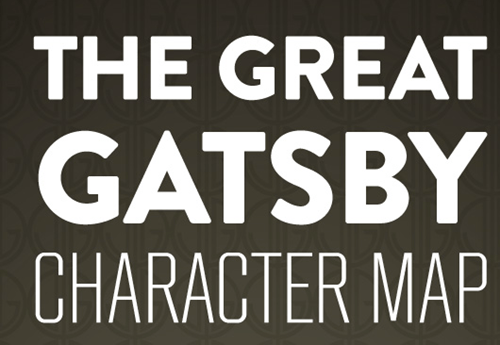 art the great gatsby infographic - 7064126720