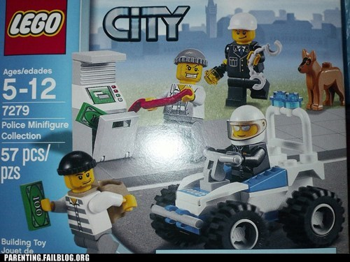 lego,diversity,cops and robbers
