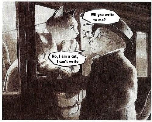 Movie romance love Cats - 7064279552