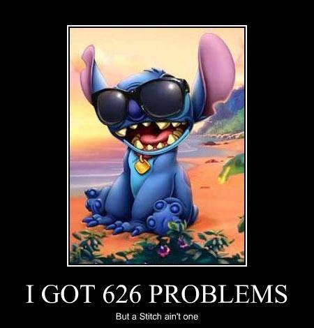 99 problems,stich,puns