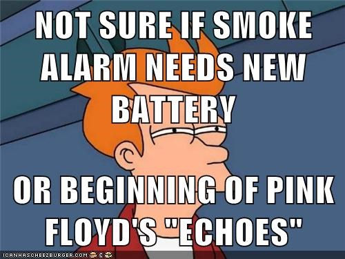 Not Sure If Smoke Alarm Needs New Battery Or Beginning Of Pink