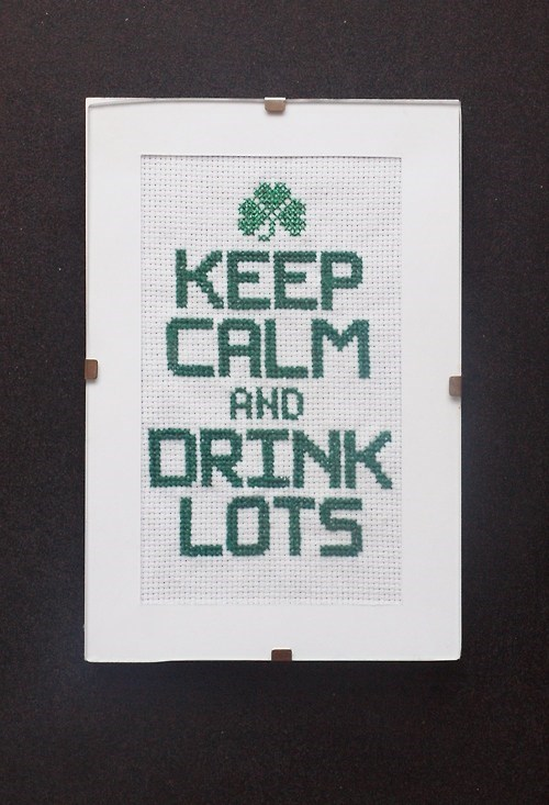 drink lots,keep calm