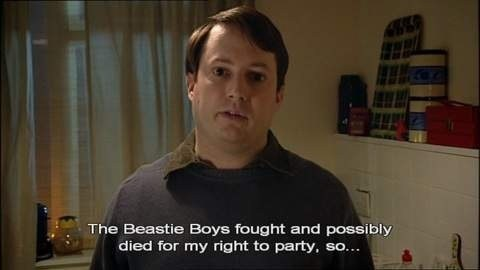Fight For Your Right,the beastie boys,mitchell and webb