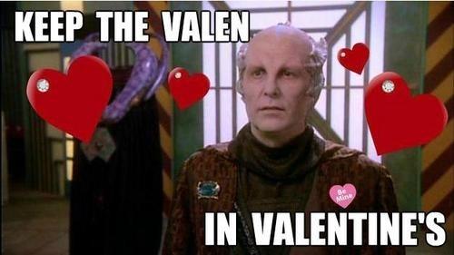Babylon 5,Minbari,jeffrey sinclair,valen,Valentines day,michael o'hare
