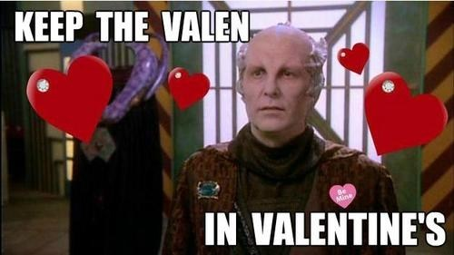 Babylon 5 Minbari jeffrey sinclair valen Valentines day michael o'hare - 7064578048