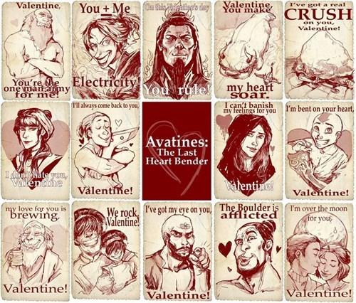 pickup lines Avatar Valentines day - 7064693504
