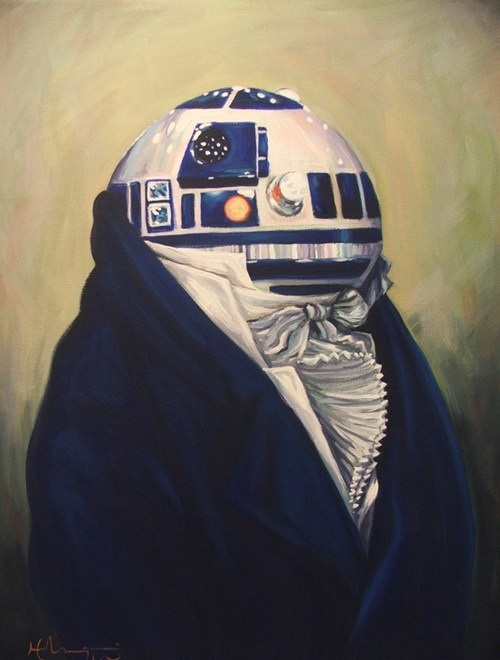 r2d2 scifi star wars Fan Art
