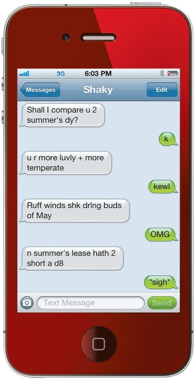 shakespeare textspeak g rated AutocoWrecks - 7064763136