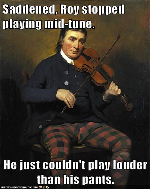 pants,plaid,play,violin