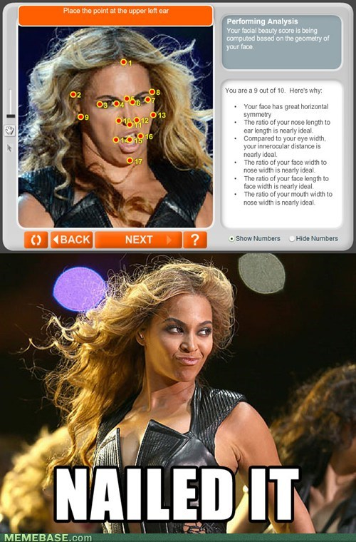 anaface,beyoncé,Nailed It,unflattering beyonce