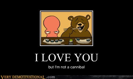 wtf,cannibal,bear,octopus