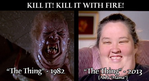 Kill It With Fire The Thing Honey Boo Boo Child - 7065210368