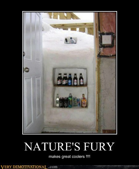 cooler,good idea,snow,winter