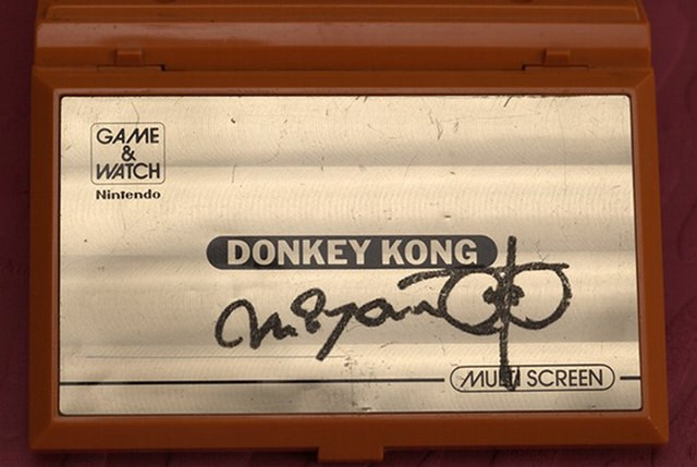 donkey kong list shigeru miyamoto video games signatures game-watch - 70661