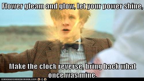 tangled the doctor Matt Smith doctor who regeneration - 7066482176