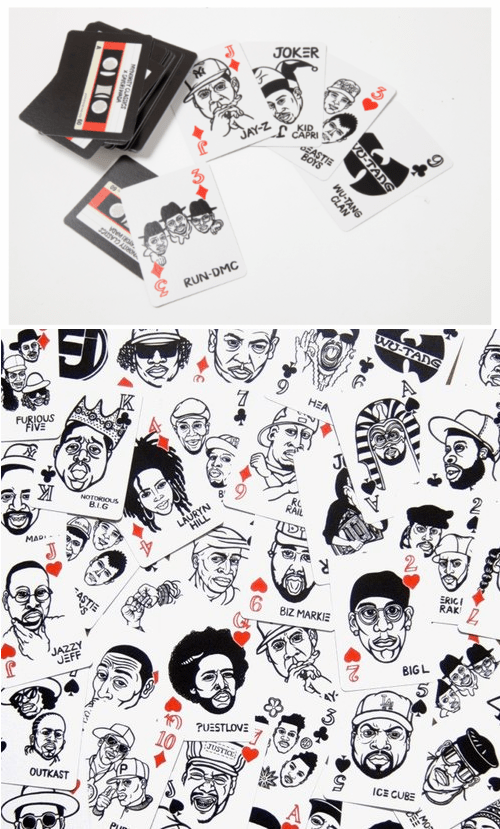 hip hop deck of cards playing cards