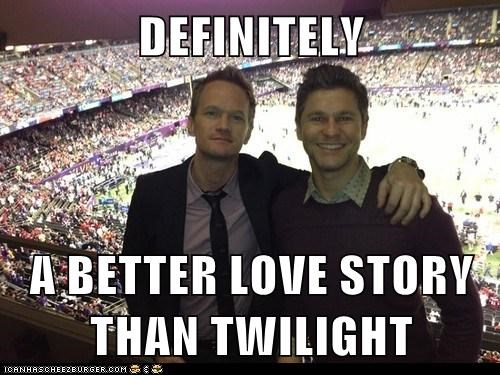 husbands david burtka Neil Patrick Harris still a better love story than twilight - 7066692352
