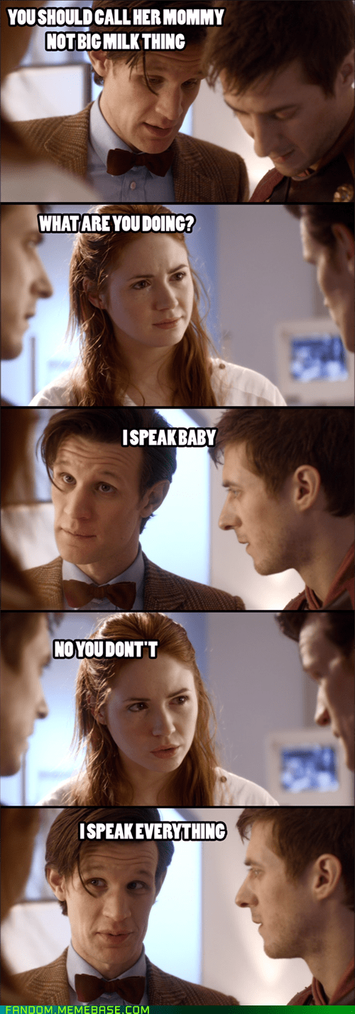 Babies,11th Doctor,doctor who,scifi