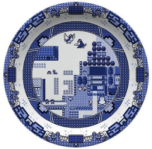 Pokémon art Fan Art plates video games - 7066884096