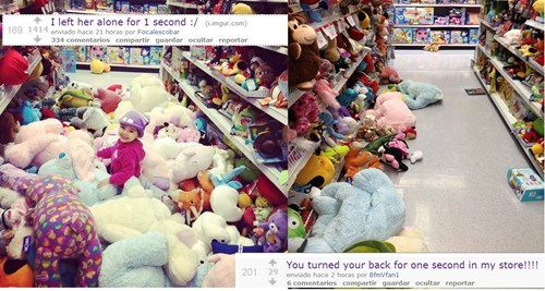 messy kids Before And After toy store