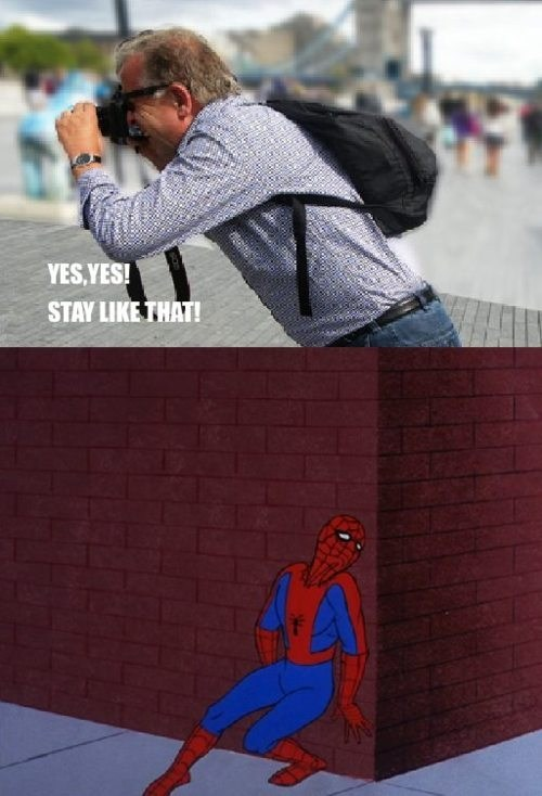 wtf Spider-Man sexy pose - 7066934784