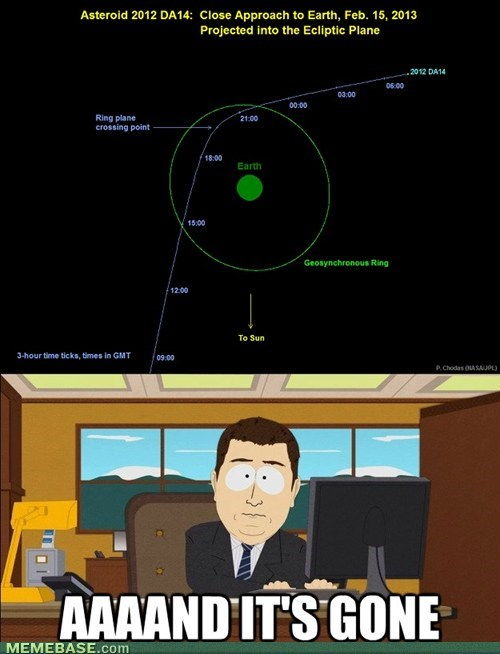 and-its-gone,asteroids,South Park,science