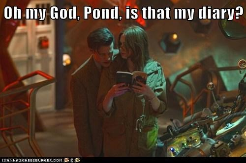 privacy,karen gillan,the doctor,Matt Smith,doctor who,amy pond,diary