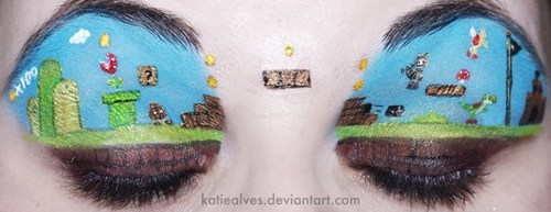 makeup video games Super Mario bros - 7067180544
