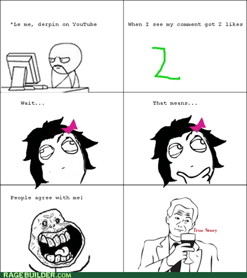 youtube,comment,likes,true story