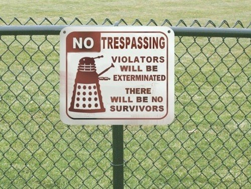 scifi signs daleks doctor who - 7067212288