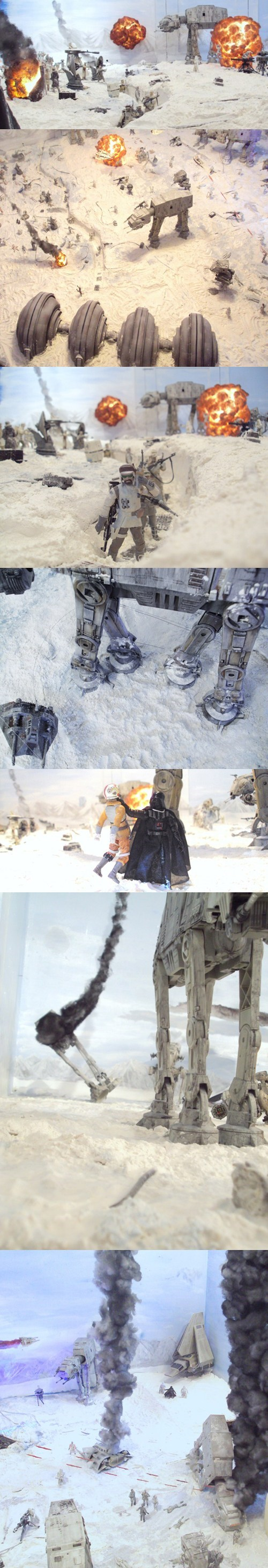 star wars,recreation,diorama,Hoth