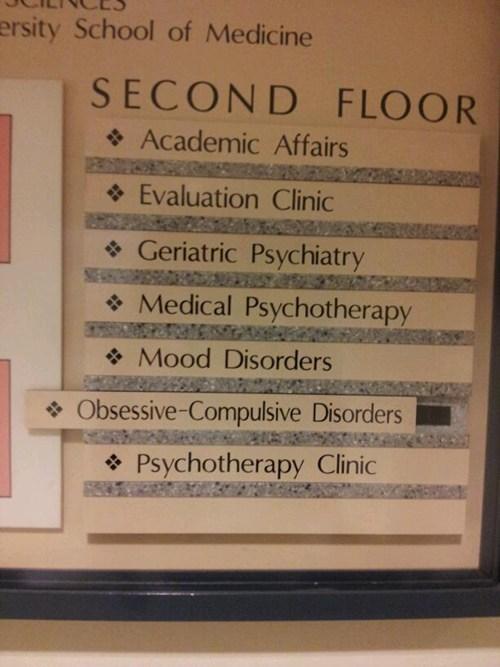 sign hospital ocd - 7067270144