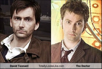 David Tennant Totally Looks Like The Doctor