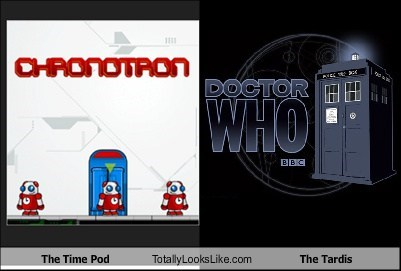The Time Pod Totally Looks Like The Tardis