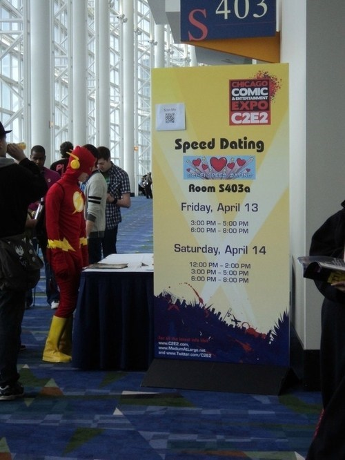 speed dating superheroes the flash dating - 7067411200